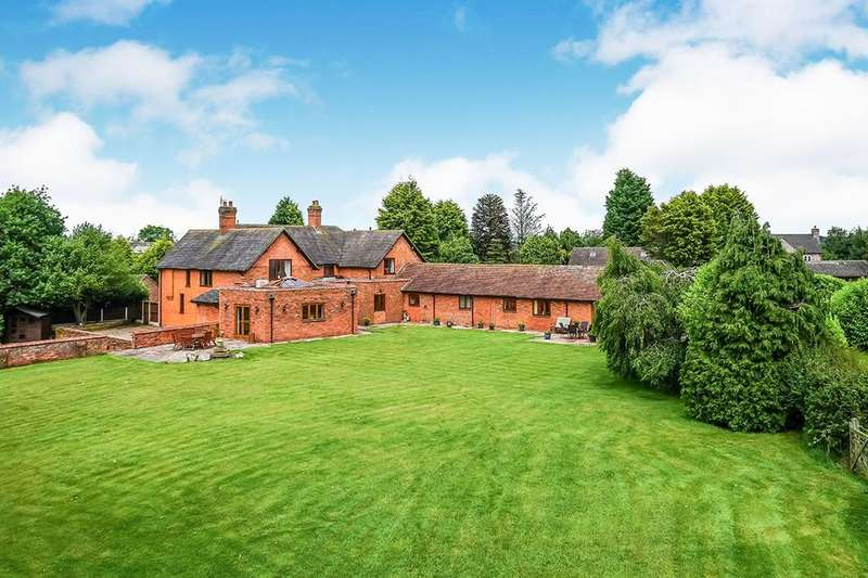 5 Bedrooms Detached House for sale in Standon, Stafford, ST21