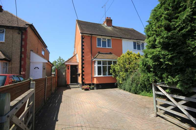 3 Bedrooms Semi Detached House for sale in Hillside Road, Earley, Reading, RG6