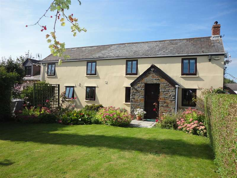 5 Bedrooms Detached House for sale in Hawthorn Cottage, The Causeway, Magor