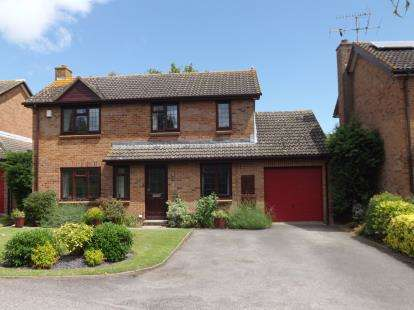 4 Bedrooms Detached House for sale in Manor Close, Cam, Dursley, Gloucestershire