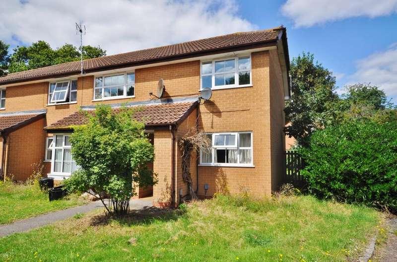 2 Bedrooms Maisonette Flat for sale in Gregory Close, Lower Earley, Reading, RG6 4JJ