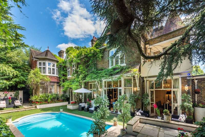 10 Bedrooms House for rent in Frognal, Hampstead, NW3