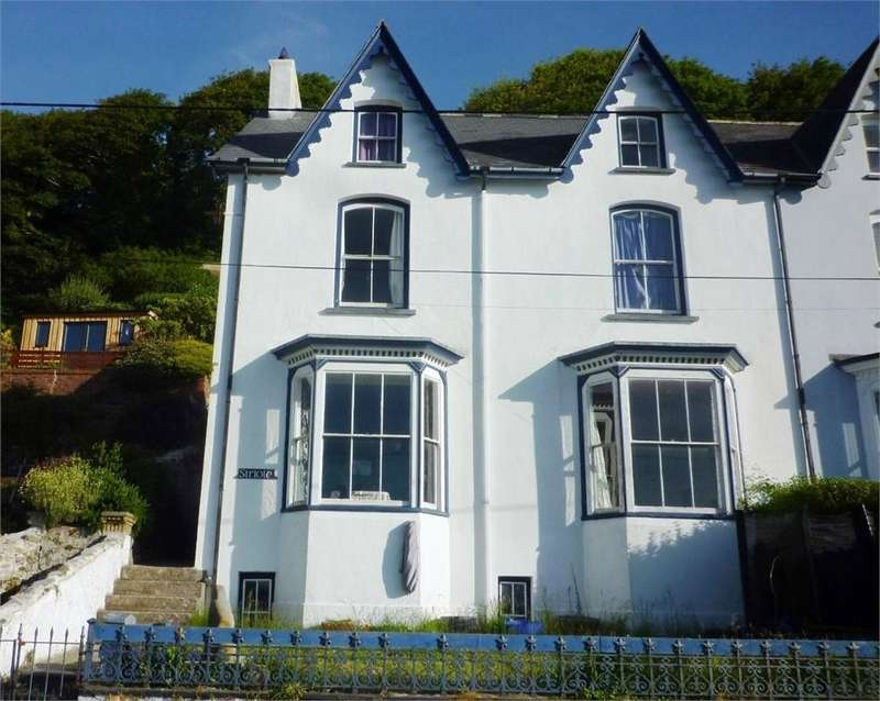 5 Bedrooms Semi Detached House for sale in Siriole, Quay Road, Goodwick, Pembrokeshire