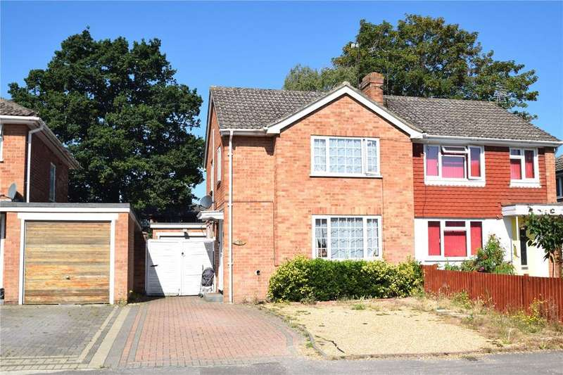 3 Bedrooms Semi Detached House for sale in Quentin Road, Woodley, Reading, Berkshire, RG5