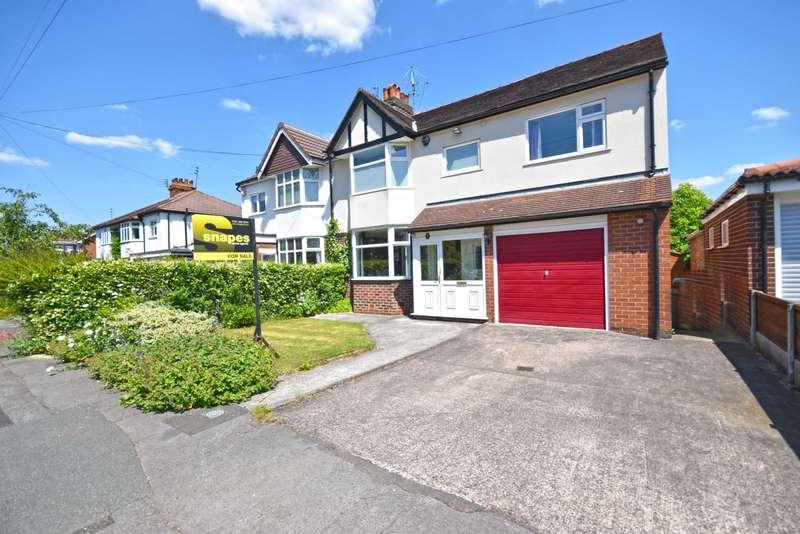 4 Bedrooms Semi Detached House for sale in Ravenoak Park Road, Cheadle Hulme