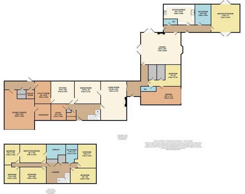 8 Bedrooms Detached House for sale in Old Buckenham, NR16