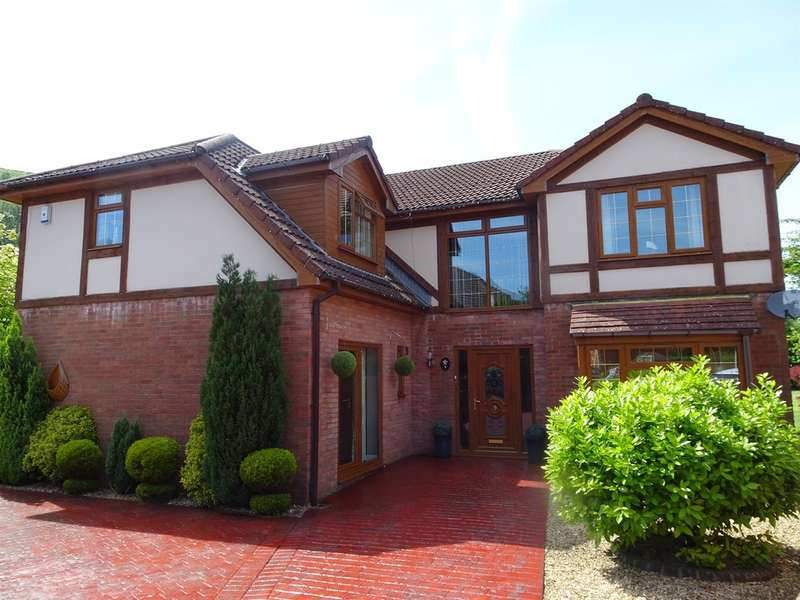 4 Bedrooms Detached House for sale in St Davids Park, New Tredegar