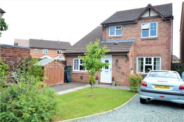 3 Bedrooms Detached House for sale in Kestrel Gardens, Quedgeley, GL2 4NR