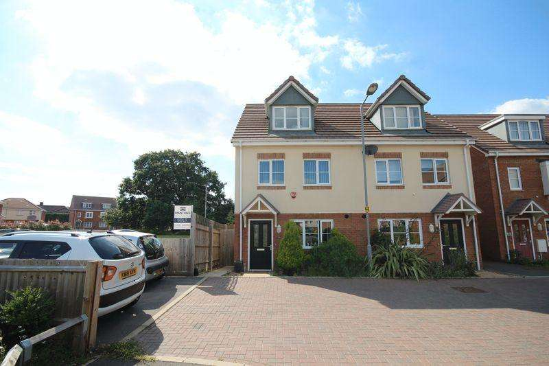 4 Bedrooms Semi Detached House for sale in 4 bed family home with a park on the doorstep...