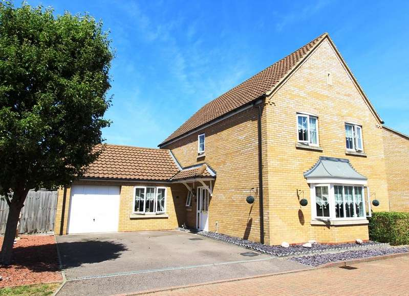 4 Bedrooms Detached House for sale in Goldfinch Drive, Sandy SG19