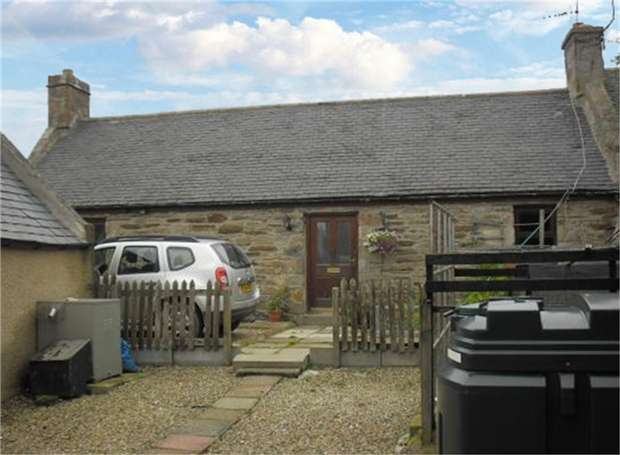 1 Bedroom Semi Detached House for sale in Back Street, Newmill, Keith, Moray