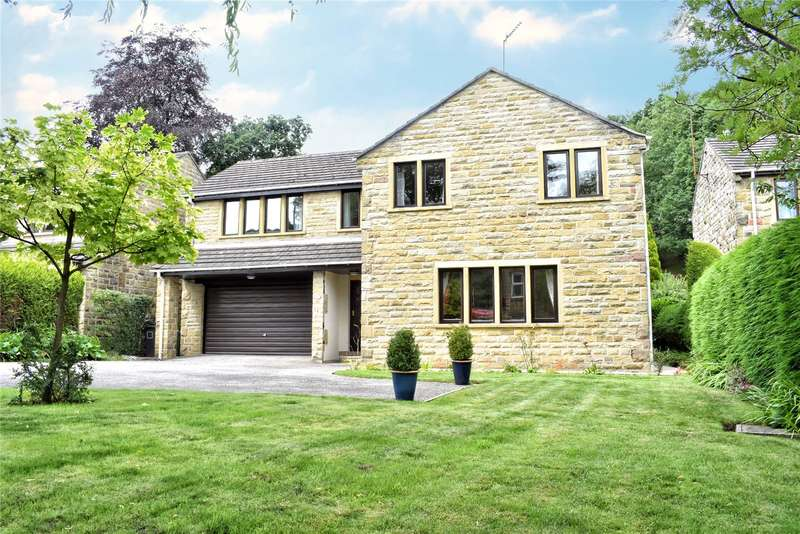 5 Bedrooms Detached House for sale in Huddersfield Road, Thongsbridge, Holmfirth, West Yorkshire, HD9