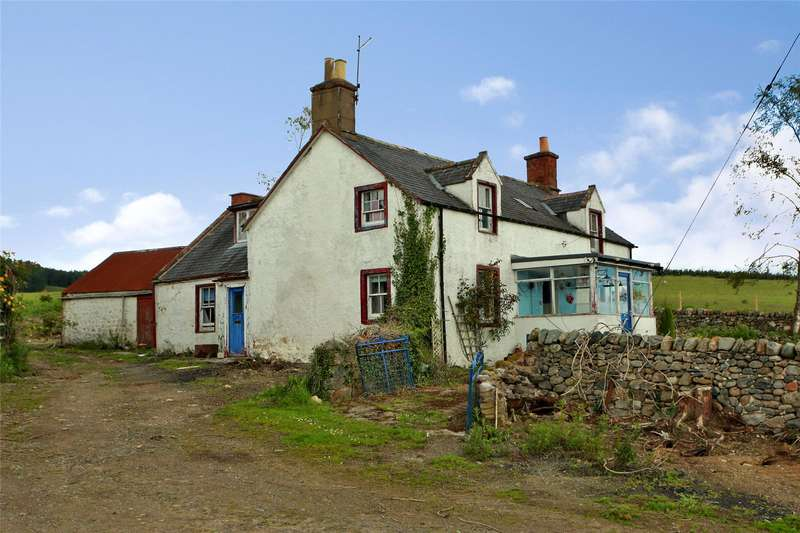 3 Bedrooms Detached House for sale in Bonharry Farm Cottage, Edzell, Brechin, Angus, DD9