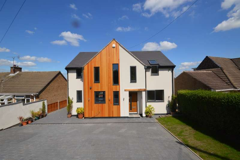 4 Bedrooms Detached House for sale in Longedge Lane, Wingerworth, Chesterfield, S42 6PB