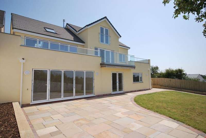 5 Bedrooms Detached House for sale in Trispen, Nr. Truro, Cornwall