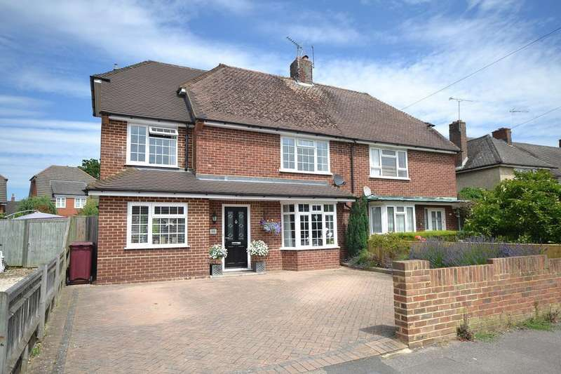 4 Bedrooms Semi Detached House for sale in Knights Way, Emmer Green, Reading