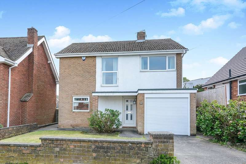 3 Bedrooms Detached House for sale in Hunloke Avenue, Chesterfield, Derbyshire, S40