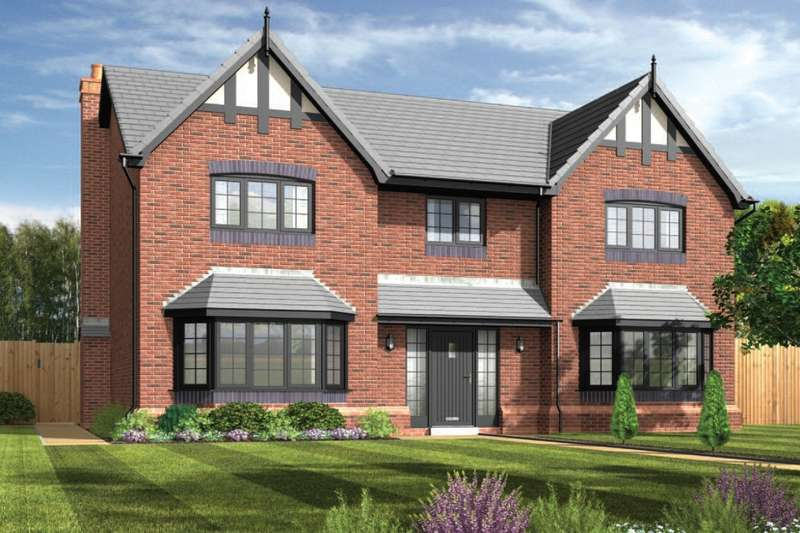 5 Bedrooms Detached House for sale in Daneside Park, Off Forge Lane, Congleton, Cheshire, CW12