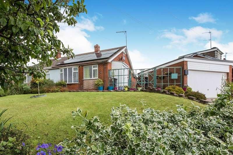 3 Bedrooms Semi Detached Bungalow for sale in Wraggs Lane, Biddulph Moor, Stoke-On-Trent, ST8