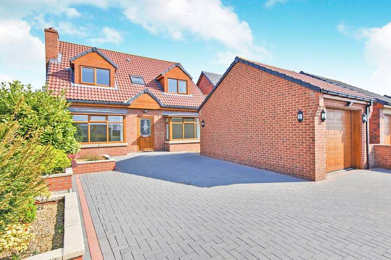 4 Bedrooms Detached House for sale in Jobson Meadows, Stanley, Crook, County Durham, DL15