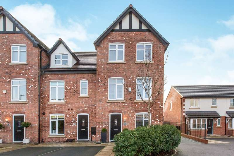 4 Bedrooms House for sale in Severn Way, Holmes Chapel, Cheshire, CW4