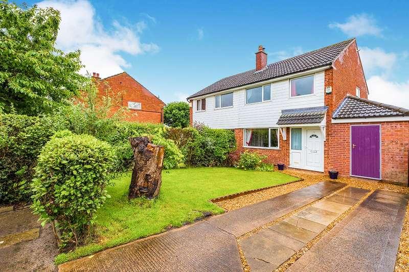 4 Bedrooms Semi Detached House for sale in Claughton Avenue, Leyland, Lancashire, PR25