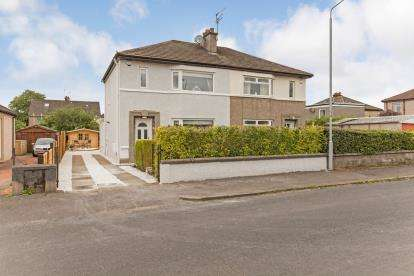 3 Bedrooms Semi Detached House for sale in Springfield Avenue, Paisley