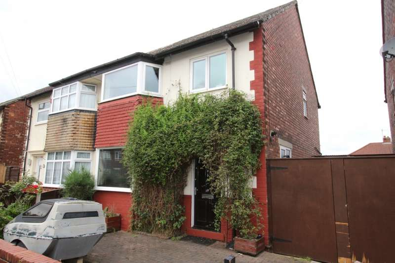 3 Bedrooms Semi Detached House for sale in Shelley Road, Reddish, Stockport, Cheshire, SK5