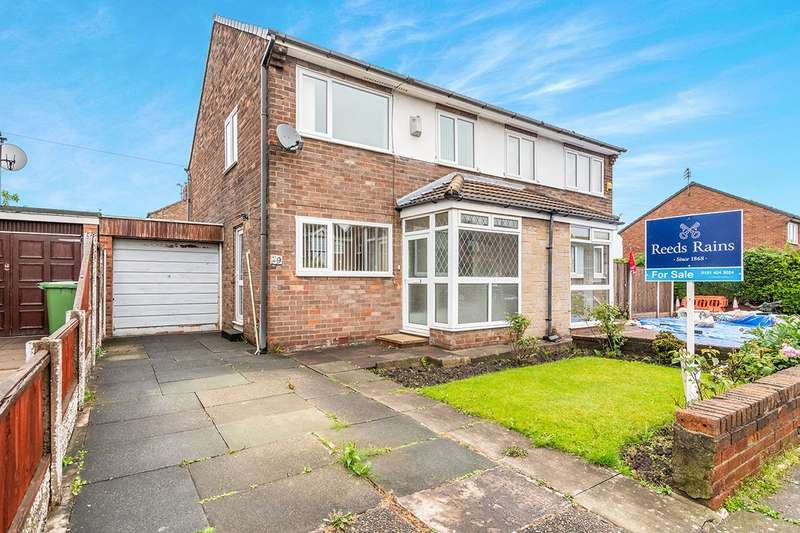3 Bedrooms Semi Detached House for sale in Glebe Lane, Widnes, Cheshire, WA8