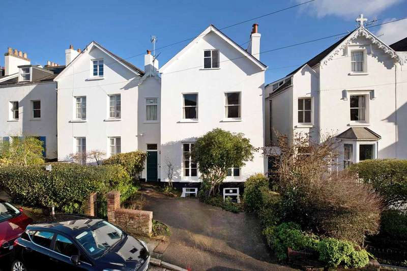 4 Bedrooms Semi Detached House for sale in St Leonards, Exeter