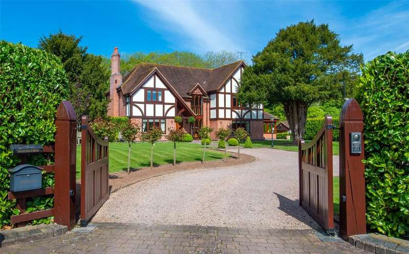 5 Bedrooms Detached House for sale in Sale Green, Droitwich, Worcestershire, WR9