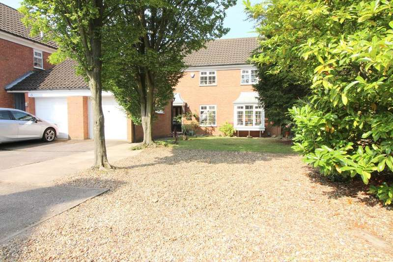4 Bedrooms Detached House for sale in Beckham Close, Luton, Bedfordshire, LU2 7BX