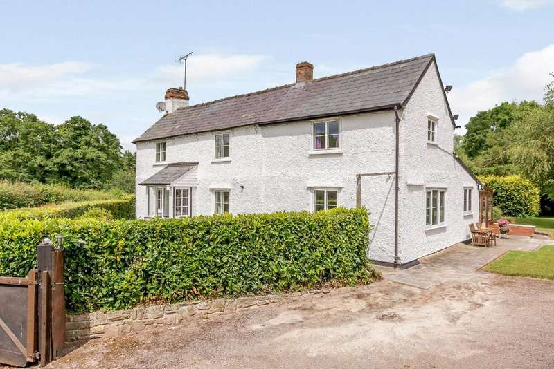 3 Bedrooms Detached House for sale in Clehonger, Herefordshire - with land