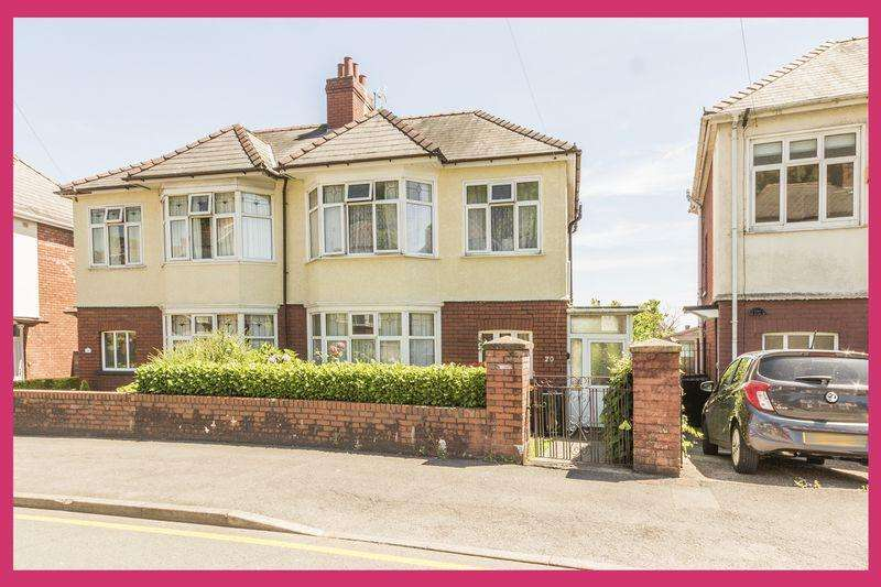 3 Bedrooms Semi Detached House for sale in Keynsham Avenue, Newport - REF# 00007148