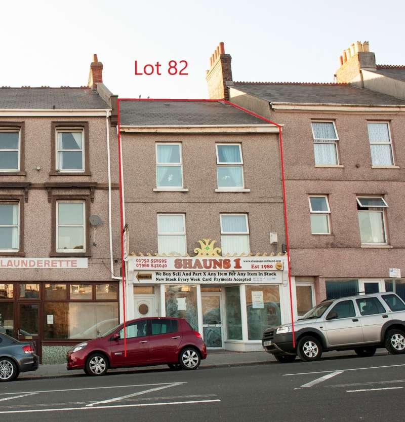 4 Bedrooms Mixed Use Commercial for sale in Albert Road, Plymouth, Devon, PL2 1AW