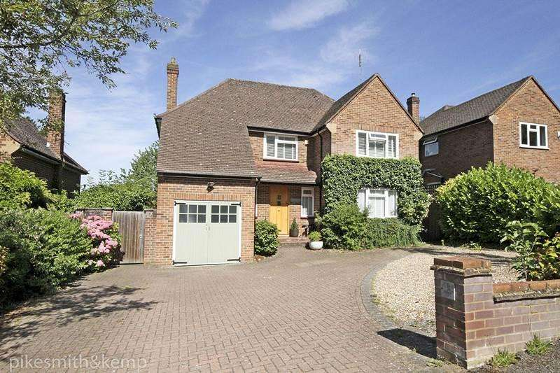 4 Bedrooms Detached House for sale in Rushington Avenue, MAIDENHEAD, SL6