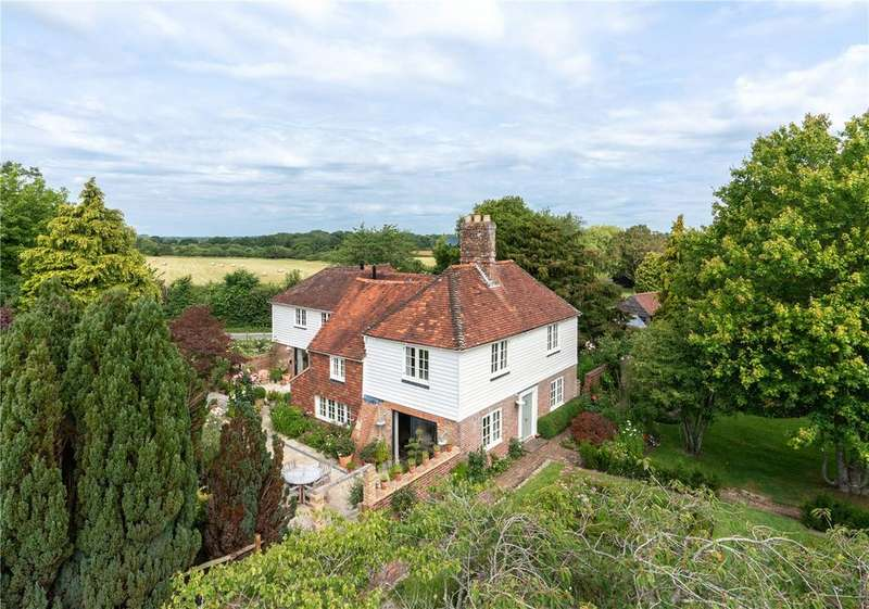 5 Bedrooms Detached House for sale in Wickham Lane, Cooksbridge, Lewes, East Sussex, BN8