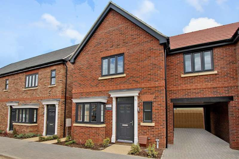 3 Bedrooms End Of Terrace House for sale in Plot 31, Shepherds Mews, Shefford, SG17