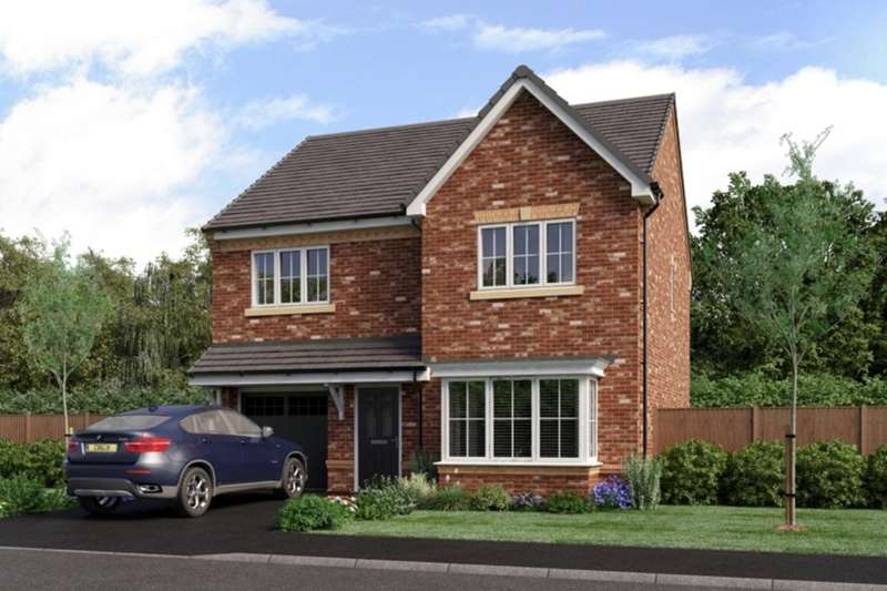 4 Bedrooms Detached House for sale in The Landings, Coppull, Chorley, Lancashire, PR7