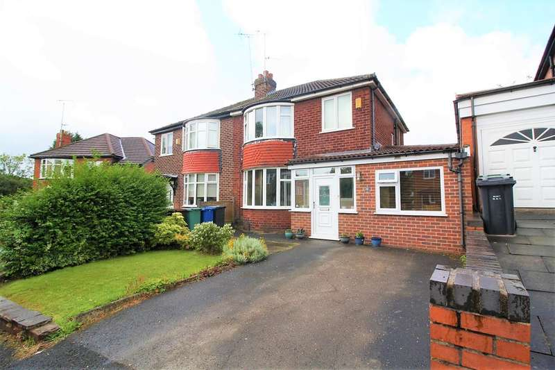 4 Bedrooms Semi Detached House for sale in Hollyedge Drive, Prestwich