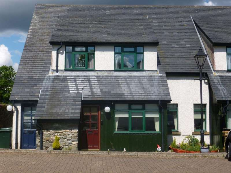 2 Bedrooms End Of Terrace House for sale in 19 Ros-Mhor Gardens, Cromlech Road, Sandbank, DUNOON, PA23 8FH