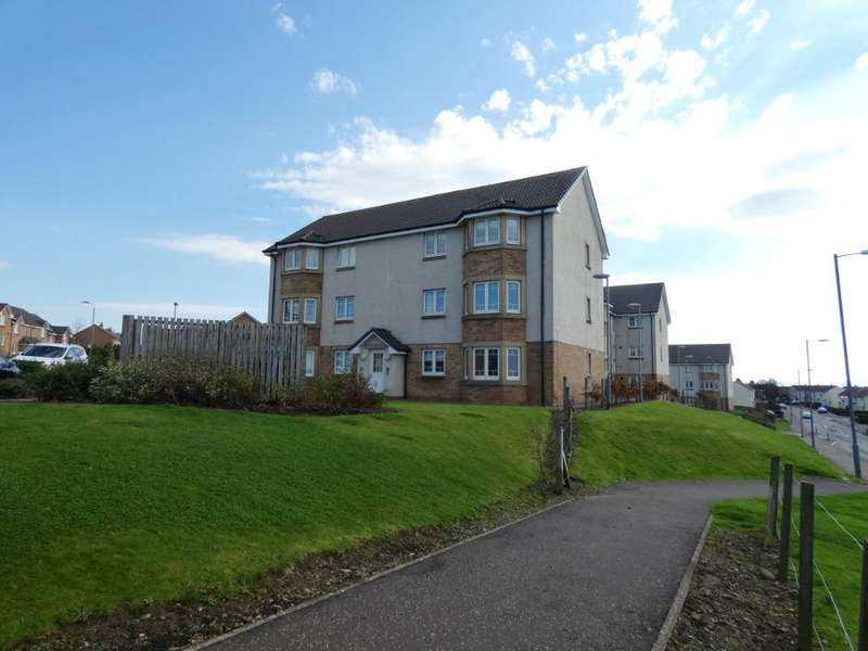 2 Bedrooms Flat for sale in Meiklelaught Place, Saltcoats, North Ayrshire, KA21 6GR
