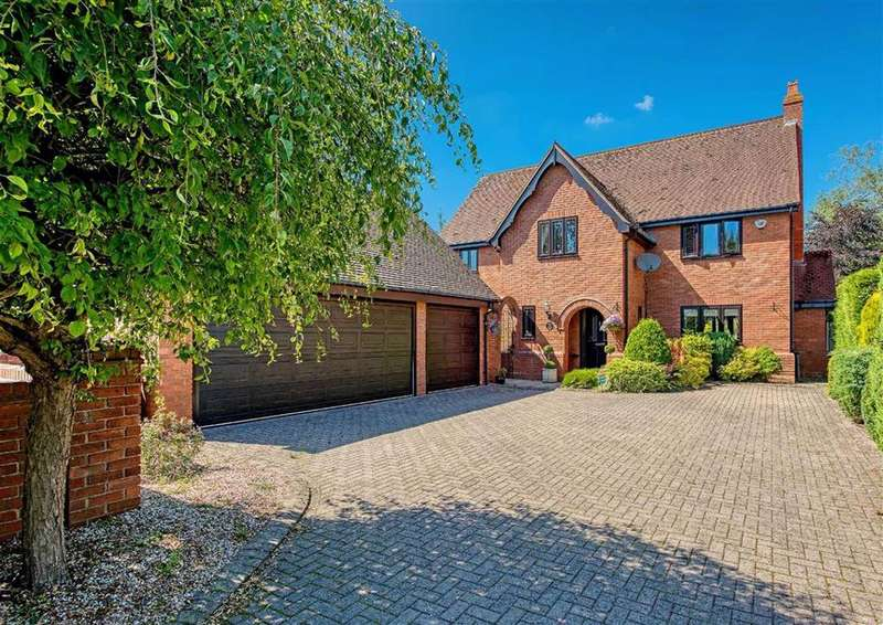 4 Bedrooms Detached House for sale in The Roost, 16, Rectory Drive, Weston-under-Lizard, Shifnal, South Staffordshire, TF11
