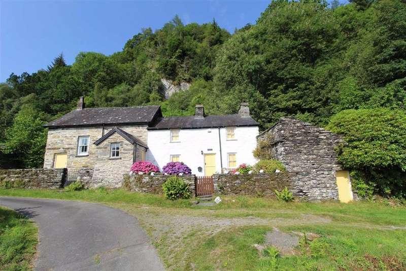 3 Bedrooms Cottage House for sale in Dolwyddelan