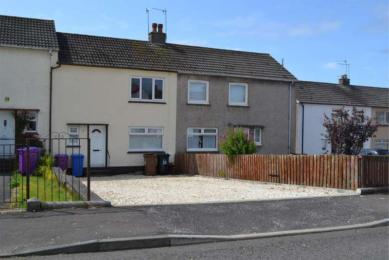 2 Bedrooms Terraced House for sale in 24 Ross Road, SALTCOATS, KA21 6AH