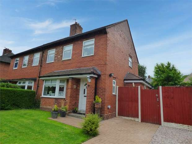 4 Bedrooms Semi Detached House for sale in Six Acre Gardens, Moore, Warrington, Cheshire