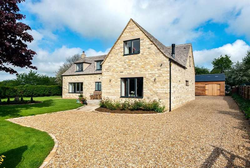 4 Bedrooms Detached House for sale in Sunhill, Poulton, Cirencester, GL7