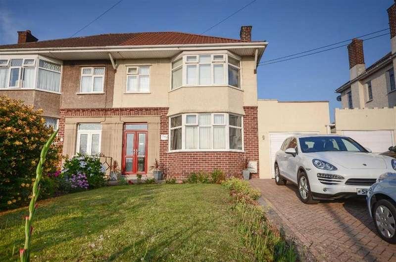 4 Bedrooms Semi Detached House for sale in Blackhorse Road, Mangotsfield, Bristol, BS16 9AY