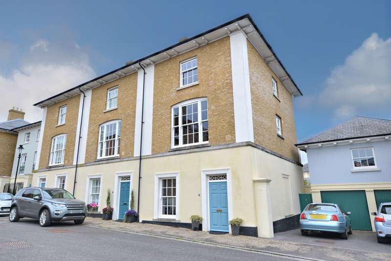 4 Bedrooms End Of Terrace House for sale in Poundbury
