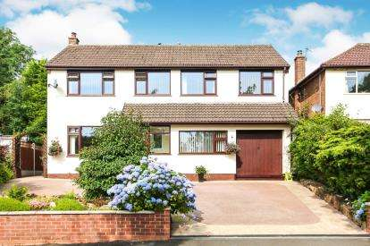 4 Bedrooms Detached House for sale in Hilton Road, Disley, Stockport, Cheshire